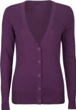 Purple cardigan like Bernadettes at Amazon