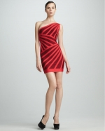 Mindy's red dress at Neiman Marcus