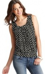 Polka dot top like Lemons at Loft