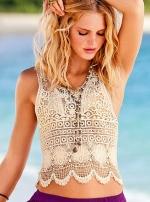Similar crochet top at Victorias Secret