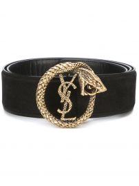 \'Monogram\' serpent belt at Farfetch