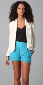 Robin's cream jacket at Shopbop