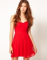Red dress like Lemons at Asos