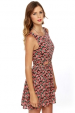 Similar floral dress at Lulus