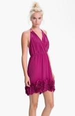 Magenta dress like Serenas at Nordstrom