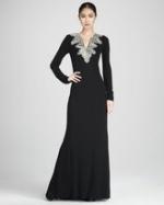 Georgina's gown at Bergdorf Goodman