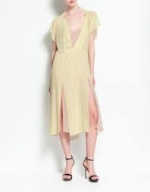 Spencer's yellow dress at Zara
