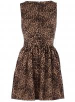 Leopard dress at Dorothy Perkins
