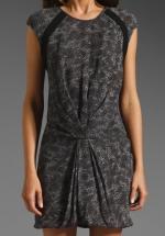 Zoe's leopard dress at Revolve