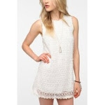 Similar white dress at Urban Outfitters