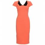 Serena's orange dress at My Theresa