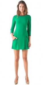 Jane's green dress at Shopbop