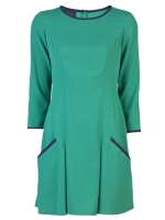 Jane's green dress at Farfetch