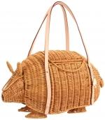 Lemon's straw armadillo bag at Amazon