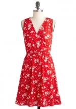 Similar red dress at Modcloth