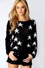 Similar star sweater at Boohoo