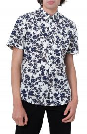 7 Diamonds Magnificent Floral Print Sport Shirt at Nordstrom