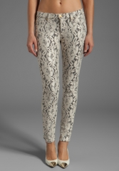 7 FOR ALL MANKIND The Skinny in Lace Orchid at Revolve