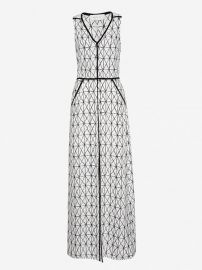 A L C    Jesse  Print Silk Maxi Dress white at Nordstrom