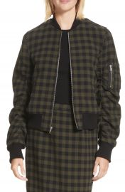 A  L C  Andrew Wool Bomber Jacket at Nordstrom