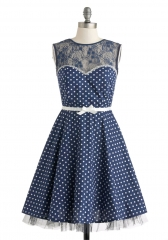A Dot to Love Dress at ModCloth