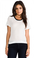 A Fine Line Brit Tee in White  REVOLVE at Revolve