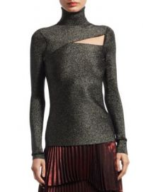 A L C  - Camden Metallic Cutout Sweater at Saks Fifth Avenue