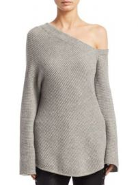 A L C  - Charly Cashmere One-Shoulder Sweater at Saks Off 5th