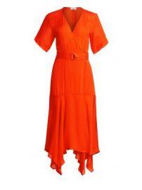 A L C  - Claire Silk Wrap Dress at Saks Fifth Avenue