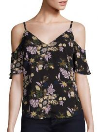 A L C  - Olivia Cold Shoulder Top at Saks Fifth Avenue