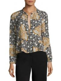 A L C  - Printed Silk Blouse at Saks Off 5th