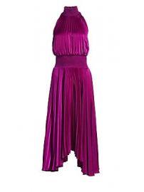A L C  - Renzo Pleated Sleeveless Dress at Saks Fifth Avenue