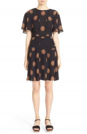A L C   Cooper  Print Silk Dress at Nordstrom