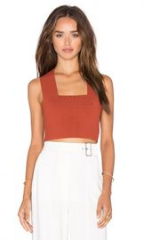 A L C  Ali Top in Rust from Revolve com at Revolve