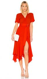 A L C  Claire Dress in Poppy from Revolve com at Revolve
