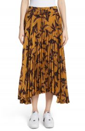 A L C  Maya Pleated A-Line Skirt at Nordstrom
