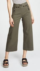 A L C  Pierce Twill Sailor Pants at Shopbop