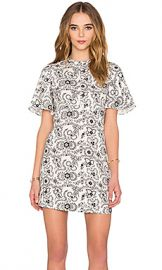 A L C  Spencer Dress in White  amp  Black from Revolve com at Revolve