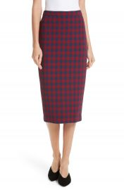 A L C  Thea Plaid Wool Pencil Skirt   Nordstrom at Nordstrom