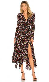A L C  Tianna Dress in Coral Multi from Revolve com at Revolve