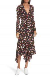 A L C  Tianna Silk Wrap Dress at Nordstrom