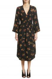 A L C  Wilma Silk Wrap Dress at Nordstrom