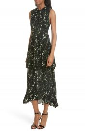 A L C  Wylon Print Silk Dress at Nordstrom