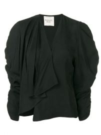 A W A K E  Mode Ruched Sleeve Top - Farfetch at Farfetch