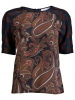 A.L.C. paisley Racci blouse at Farfetch