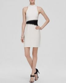 ABS by Allen Schwartz Dress - Color Block Ponte at Bloomingdales