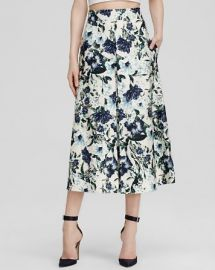 ABS by Allen Schwartz Skirt - Printed Midi at Bloomingdales
