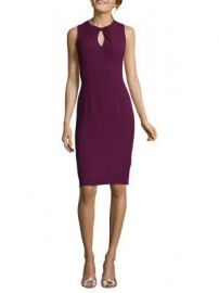 ADRIANNA PAPELL - SLEEVELESS SHEATH DRESS at Lord & Taylor