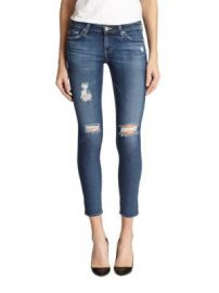 AG - Distressed Legging Ankle Jeans at Saks Fifth Avenue