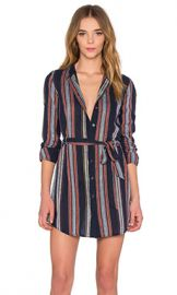 AG Adriano Goldschmied Jett Dress in Blue Night Stripe from Revolve com at Revolve